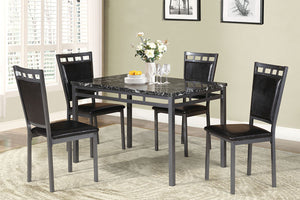 F2389 - Dining Table with 4 Chairs