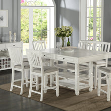 F2466 - Counter Height Dining Table with 6 Chairs