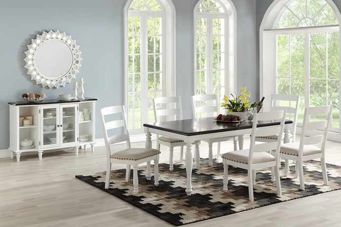 F2467 - Dining Table with 6 Chairs