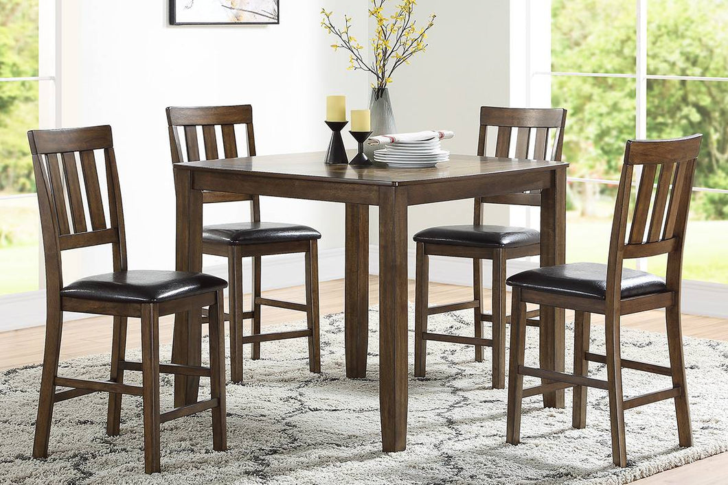 F2545 - Counter Height Dining Table with 4 Chairs