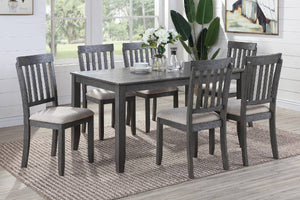 F2553 - Dining Table with 6 Chairs
