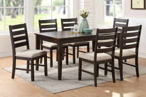 F2555 - Dining Table with 6 Chairs