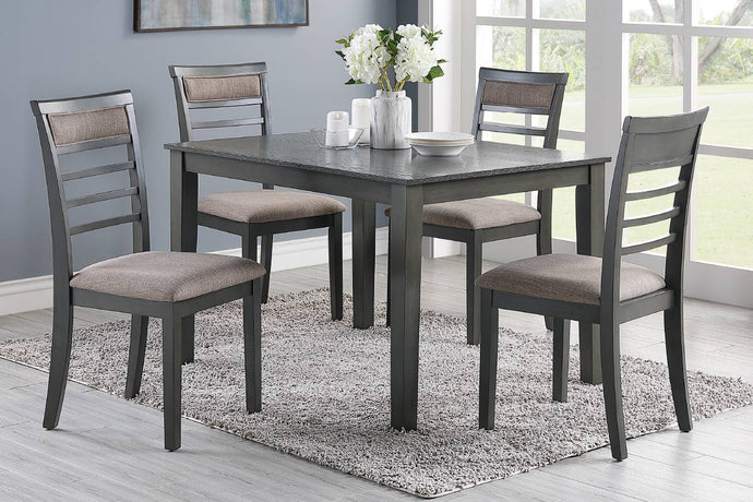 F2556 - Dining Table with 4 Chairs