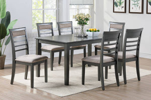 F2557 - Dining Table with 6 Chairs