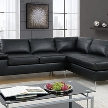 F6519 - Kavari Black Reversible Sectional
