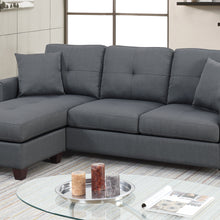 F6571 - Tommy Charcoal Reversible Sectional