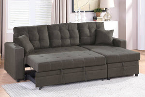 F6591 - Josh Convertible Reversible Sectional Sofa