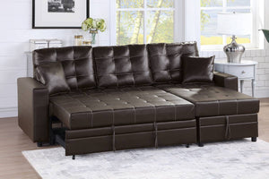 F6592 - Josh Convertible Reversible Sectional Sofa