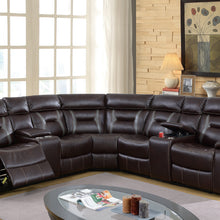 F6649 - 3PCs Home Theater Recliner Sectional