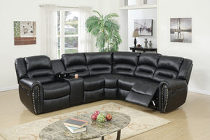 F6743 - 3PCs Home Theater Recliner Sectional