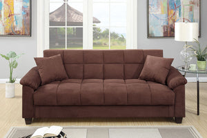 F7889 - Bernard Adjustable Sofa Bed with Storage