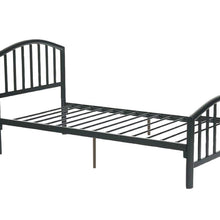 F9018T - Black Metal Twin Bed