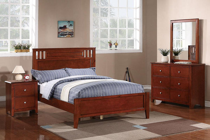 F9047T - Claire Cherry Twin Bed - Available in Full Bed