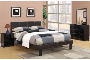 F9212T - Kelly Espresso Twin Bed - Available in Full Bed