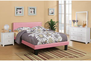 F9300T - Kelly Pink Twin Bed - Available in Full Bed