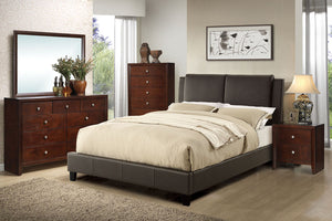 F9336Q - Elina Queen Platform Bed - Available in Full