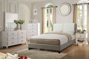 F9337Q - Elina Queen Platform Bed - Available in Full