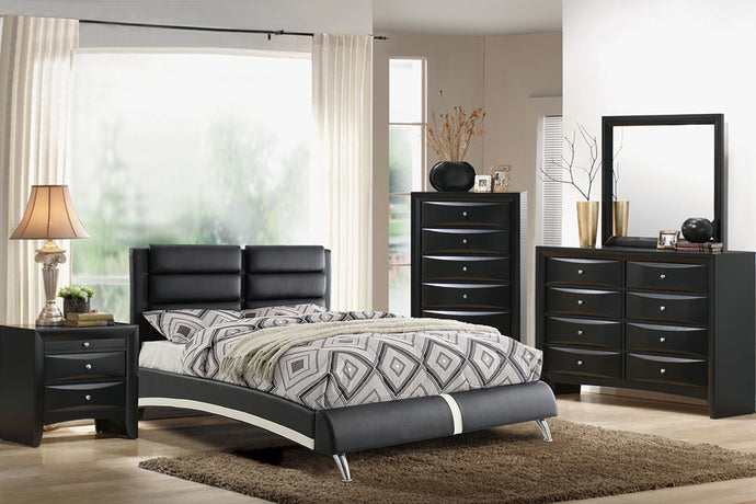 F9340Q - Queen Platform Bed - Available in King Bed