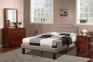 F9345T - Hadley Tan Finish Twin Bed - Available in Full Bed