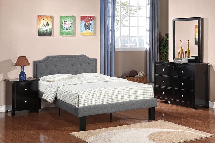 F9346T - Hadley Blue Grey Twin Bed - Available in Full Bed