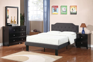 F9347F - Hadley Ash Black Finish Full Bed