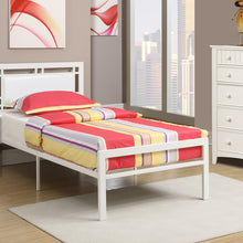 F9414T - Addison White Twin Bed