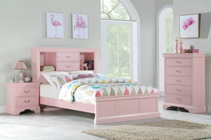 F9424T - Jenny Pink Twin Bed - Available in Full Bed