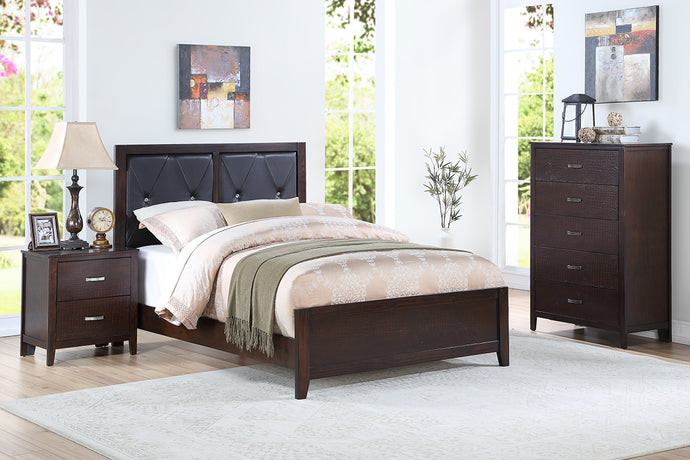 F9425T - Emory Cherry Twin Bed - Available in Full Bed