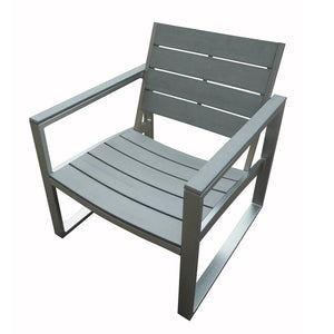 BAS-3120-G  Liberty 7-Piece All Weather Grey Engineer Plywood Patio Seating Set By The-Hom