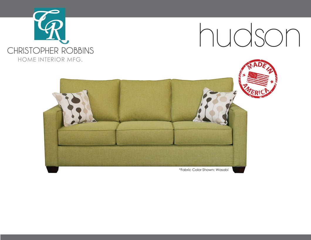 Christopher Robbins Sofa Collection - Custom Fabric Upholstery - Hudson Sofa Made In USA - CALL FOR PRICING