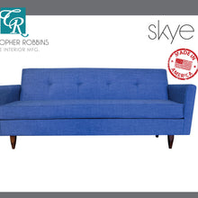 Christopher Robbins Sofa Collection - Custom Fabric Upholstery - Skye Sofa Made In USA - CALL FOR PRICING
