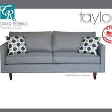 Christopher Robbins Sofa Collection - Custom Fabric Upholstery - Taylor Sofa Made In USA - CALL FOR PRICING