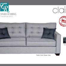Christopher Robbins Sofa Collection - Custom Fabric Upholstery - Claire Sofa Made In USA - CALL FOR PRICING