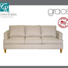 Christopher Robbins Sofa Collection - Custom Fabric Upholstery - Grace Sofa Made In USA - CALL FOR PRICING