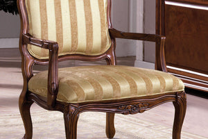 CM-AC6100 - Burnaby Traditional Style Accent Chair