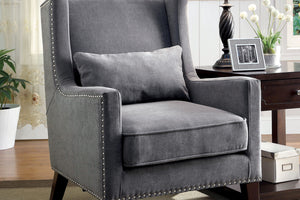 CM-AC6115GY - Tomar Gray Accent Chair