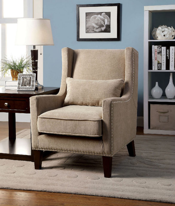 CM-AC6115IV -  Tomar Ivory Accent Chair