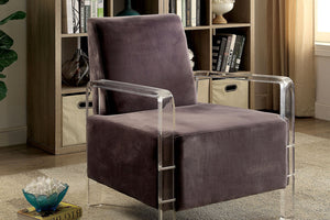CM-AC6187GY - Shelia Modern Style Accent Chair