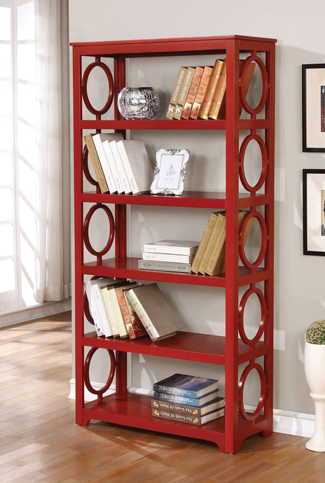 CM-AC6436  - Zoey 5-Tier Display Bookshelf