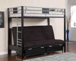 CM-BK1024 - Clifton Twin Over Twin Futon Base Bunk Bed