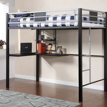 CM-BK1027 - Clifton Full Loft Bed with Workstation