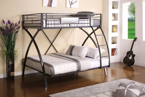 CM-BK1029 - Apollo Twin/Full Metal Bunk Bed