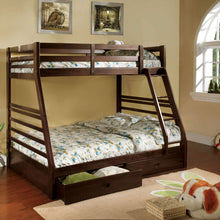 CM-BK588EX - California III Twin/Full Bunk Bed with 2 Drawers