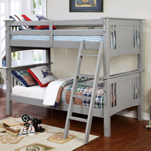 CM-BK602T-GY - Spring Creek Gray Twin/Twin Bunk Bed