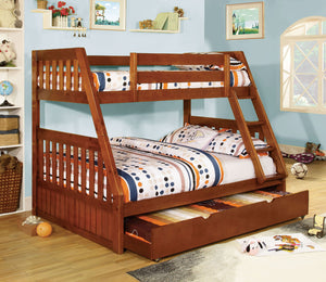 CM-BK605A - Canberra Twin over Full Bunk Bed