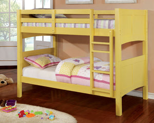 CM-BK608T-YW - Prismo Twin over Twin Bunk Bed