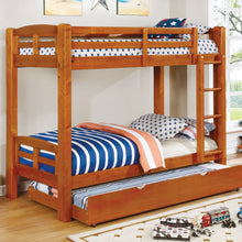 CM-BK618T-A - Solpine Twin over Twin Bunk Bed