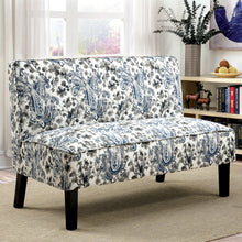 CM-BN1245 Bench - Kassie Floral Design Fabric Contemporary Style Bench