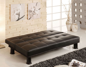 CM2394 - Quinn Black Adjustable Sofa Bed