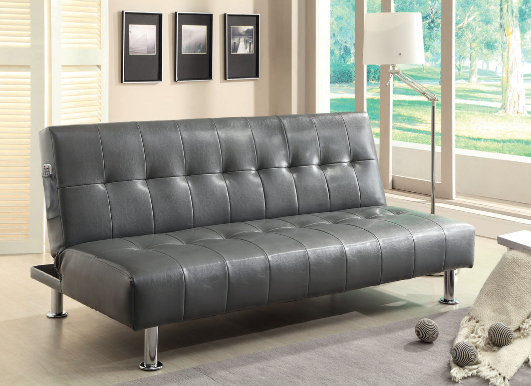 CM2669P-GY - Bulle Gray Adjustable Sofa Bed